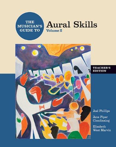 Musician's Guide to Aural Skills V 2 Teachers Edition +CD PDF