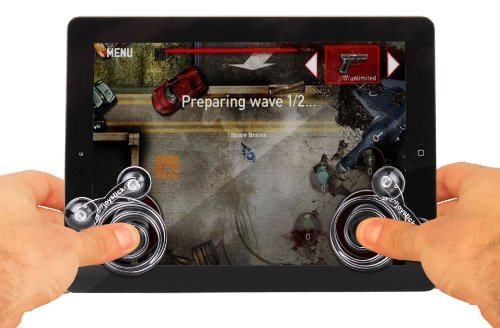 DURAGADGET Dual Gaming Joystick Controllers For Tablets Including Sony Tablet S, Tablet P & Motorola Xoom, Xoom 2 / Media Edition