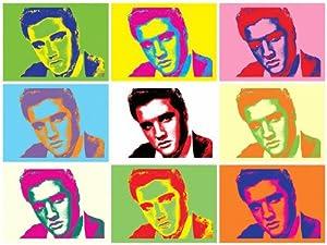 Andy Warhol Pop Art Elvis