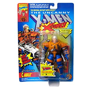 X-Men X-Force Cable 2nd Edition Deep Space Armor Action Figure