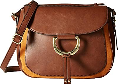 London Fog Bensen Saddle Shoulder Bag