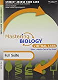 img - for MasteringBiology without Pearson eText for -- Virtual Lab Full Suite -- Standalone Access Card book / textbook / text book