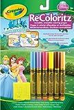 Crayola - Recoloritz Princesas: 9 Escenas Para Colorear Con Rotuladores 04-5018