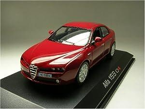 norev alfa romeo 159 q4 rouge alpha 1 43 nv 790026 auto 1 43 giochi e giocattoli. Black Bedroom Furniture Sets. Home Design Ideas