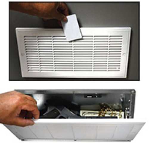 Fake-Air-Vent-Electronic-Diversion-Wall-Gun-Safe-with-RFID-Access-Card-Keys