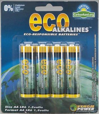 15290 AA Eco Alkaline Batteries (4)