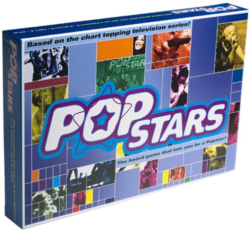 Pop Stars Music Karaoke Board Game Shrink Wrap New