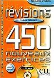 echange, troc Anne-Marie Johnson, Flore Cuny - Révisions 450 Exercices : Niveau Débutant (Livre + Corrigés + CD Audio)