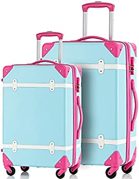 Merax Travelhouse 2-Piece ABS Luggage Set