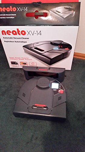 Neato XV-14 Automatic Robotic Vacuum with Extra Brush Heads, Filters, and Squeegee - Blue (Neat Robotic Vacuum compare prices)