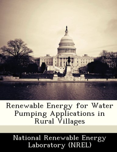 Renewable Energy for Water Pumping Applications in Rural Villages