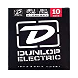 Dunlop DEN1074 Nickel Wound Electric Guitar Strings, Medium, .010-.074, 8 Strings/Set