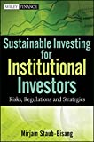 img - for Sustainable Investing for Institutional Investors: Risk, Regulations and Strategies book / textbook / text book