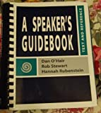 A Speaker's Guidebook (0312258488) by Dan O'Hair