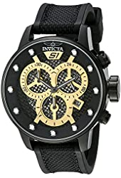 Invicta Men's 19624 S1 Rally Analog Display Quartz Black Watch