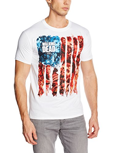 The-Walking-Dead-American-Gore-Camiseta-Hombre
