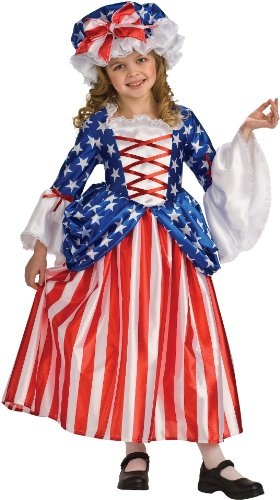 Rubie's Deluxe Betsy Ross Costume - Medium (8-10)