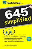 645 Simplified: NRS 645 and NAC 645 Nevada Real Estate Laws and Regulations Made Easy