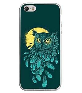 Night Owl 2D Hard Polycarbonate Designer Back Case Cover for Apple iPhone 5
