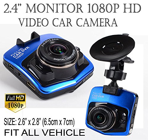 ICBEAMER 2.4'' Full HD 1080P Car DVR Vehicle Camera Video Recorder Dash Cam #1 (Cam For 2010 Camaro Ss compare prices)