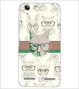 PrintDhaba Funny images D-5960 Back Case Cover for LENOVO VIBE K5 (Multi-Coloured)