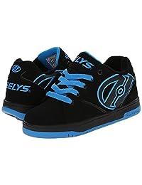 Heelys Men's Propel 2.0 Black Black Royal Roller Skate Shoes Sneakers