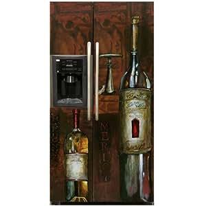 Amazon.com: Appliance Art Old World Wine Refrigerator ...