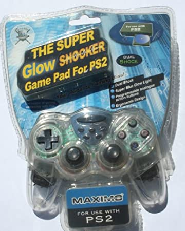 The Super Glow Shocker Controller for use with PS2 (PTTP)