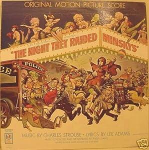 NIGHT THEY RAIDED MINSKY'S (ORIGINAL SOUNDTRACK LP, 1968)