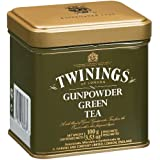 Twinings Green Gunpowder Loose Tea Tin, 100 Gram