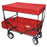 On The Edge Folding Utility Wagon With Handle