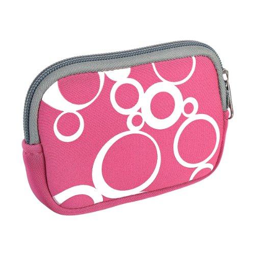 vyvy-mobiler-stylische-neopren-universal-kameratasche-fur-kompaktkameras-circles-pink
