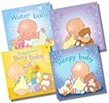 Fiona Watt Usborne Snuggletime Touchy-Feely Collection - 4 Books RRP £23.96 (Water baby; I love you, baby; Busy Baby; Sleepy Baby)