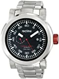 red line Men's RL-50046-11BK Torque Sport Black Dial Stainless Steel Automatic Watch