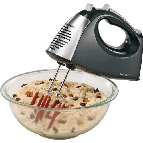New - Softscrape 6-Speed Hand Mixer With Storage Case By Hamilton Beach front-256872