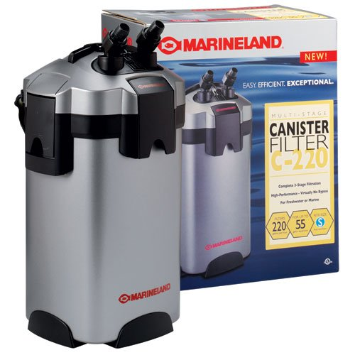 Marineland C-220 Multi-Stage 55 Gal Canister Filter
