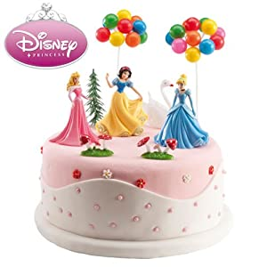 Disney Princess Cake Decoration Kit : Disney Princess Cake Decorating Kit: Amazon.co.uk: Kitchen ...