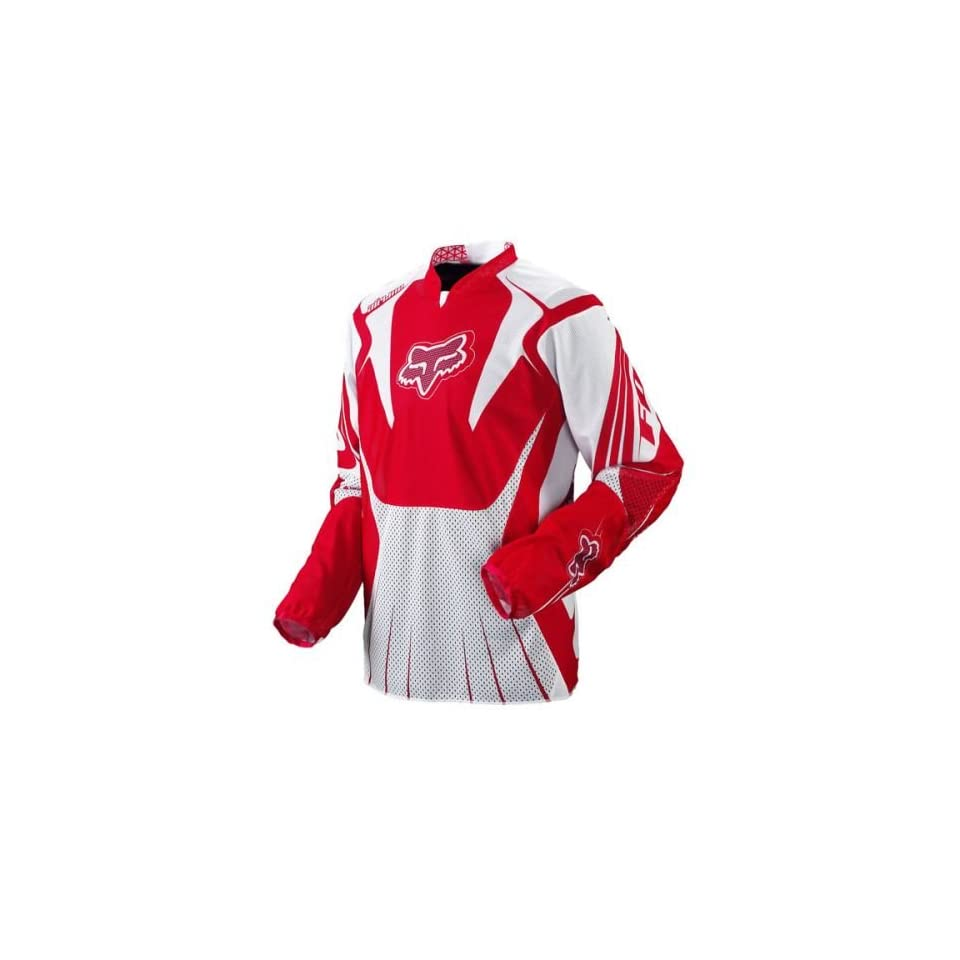 2010 Fox Racing Airline Jersey   Red   Small