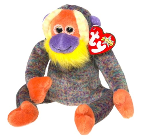 TY Beanie Baby - BANANAS the Monkey [Toy]