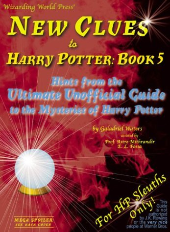Image for New Clues to Harry Potter : Hints from the Ultimate Unofficial Guide to the Mysteries of Harry Potter