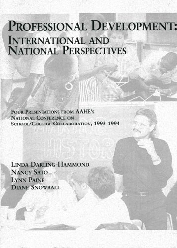 Professional Development: International and National Perspectives