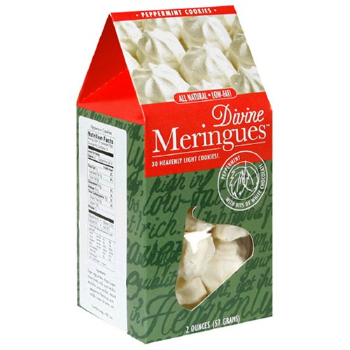 Divine Meringues, Peppermint, 2-Ounce Box (Pack of 7)
