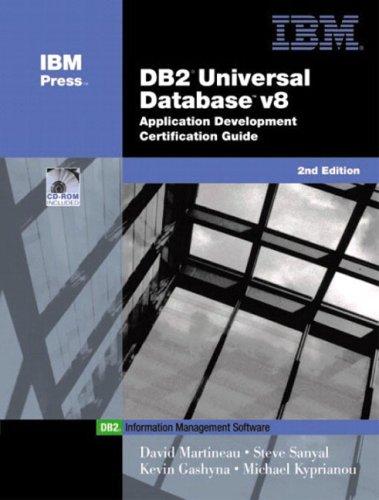 DB2(R) Universal Database V8 Application Development Certification Guide