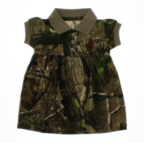 Camo School Spirit Baby Polo Dress