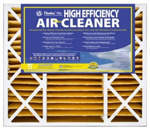 20x25x5, Percisionaire Air Cleaners High Efficiency Merv 11, 82755.052025, Pack2 (Flanders Filters 20x25x5 compare prices)