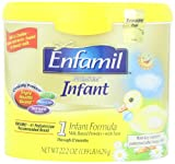 Enfamil Infant Formula Milk-Based with Iron, Reusable Tub, 22.2 Ounce