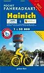 Pocket Fahrradkarte Hainich: (wasser-...