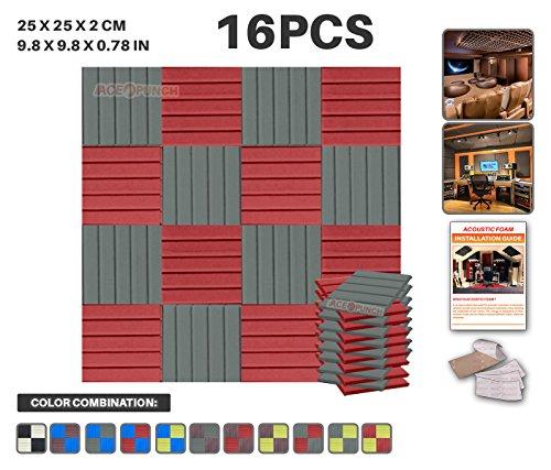 ace-punch-16-pack-2-colors-wedge-acoustic-foam-panel-diy-design-studio-soundproofing-wall-tiles-soun