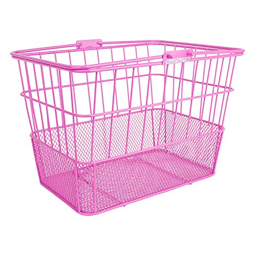 Sunlite Standard Mesh Bottom Lift-Off Basket w/ Bracket, Pink