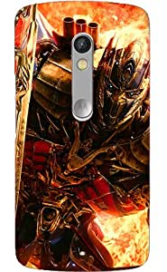 Doyen Creations Printed Back Cover For Moto G3